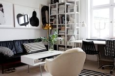 A home in Malmö, Sweden.Photo from the real estate agency Bolaget. #interior