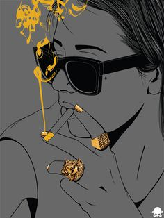 24K on Behance #illustration