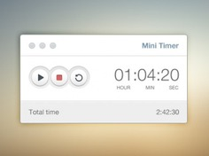 Simple timer ui elements psd Free Psd. See more inspiration related to Elements, Ui, Psd, Stop, Start, Simple, Timer, Material, Horizontal, Mini, Timing and Concise on Freepik.