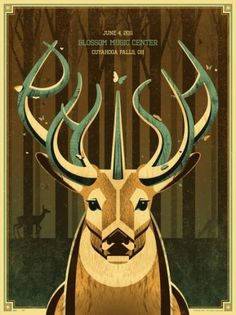 ISO50 Blog – The Blog of Scott Hansen (Tycho / ISO50) #illustration #poster #deer