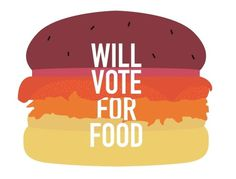 ANONYMOUS MAG #relish #burger #bun #cheese #eat #food #meat #vote #mayo #salad