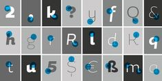 Design Work Life » cataloging inspiration daily #greyscale #letters #typography