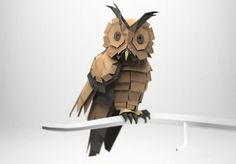Jeremy Kool | Fubiz™ #brown #owl