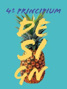 4º Design Week - FA7 on Behance #market #week #fruit #design #graphic #art #pineapple #weekend