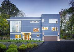 Modern Three-Storey Home With a View in Cincinnati, Ohio #architecture #modern