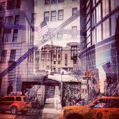 New York + London: Double Exposure Photography