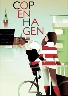 Copenhagen Poster #illustration
