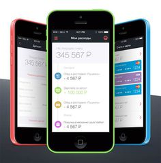 Roscredit Mobile Bank UI Design