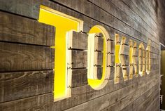 beautiful! TOKKAD #signage