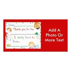 Customized Photo Card #photo #card
