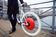 Be healthier and eco-friendly with this wheel! This is a must-have for bikers and those who wants to stay and be fit.