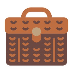 See more icon inspiration related to basket, picnic, fashion, camping and food on Flaticon.
