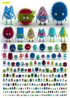 One Thousand Ksoids Project #monsters
