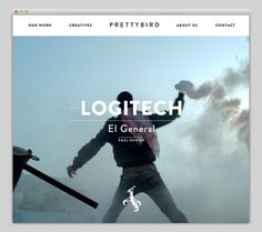 Prettybird #layout #website #web #web design