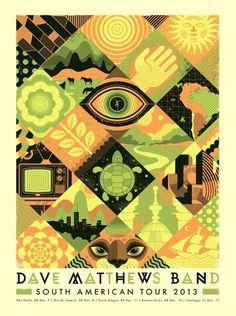 Graham Erwin #gig poster
