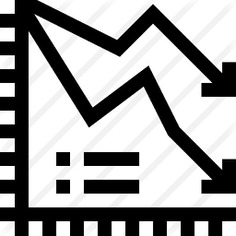 See more icon inspiration related to business and finance, line graphic, line chart, line graph, down, statistics and arrows on Flaticon.
