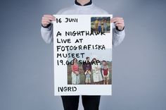 Nightwalk #poster #typography