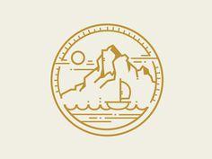 #mark #logo #emblem #icon #linework
