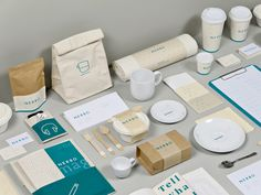 NERBO on Behance #branding #design #nerbo #identity #stationery #cool