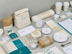 NERBO on Behance #branding #design #nerbo #identity #stationery #cool