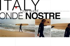 EDITION29 #nostre #surf #ipad #design #onde