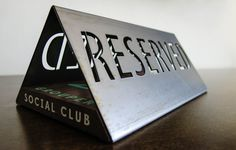 Grouper Reserved Sign #miller #sign #in #kyle #reserved #club #the #anthony #signs #made #usa #metal #grouper #social