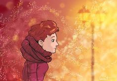 Wind - Grégory Laurent #woman #wind #snow #girl