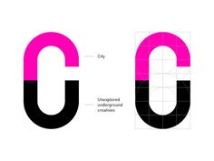Creative Underground on Behance #letterform #branding