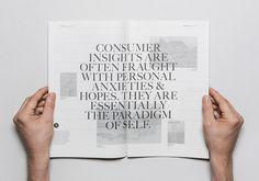 Iceberg #typography #editorial #newspaper