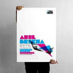 projectgraphics - typo/graphic posters #kosovo #brikha #prishtina #aril #projectgraphics #poster