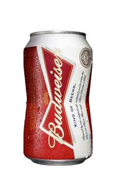 Budweiser's 'Bowtie Shape' Can The Dieline #packaging #beer