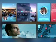 iOS7 inspired UI kit