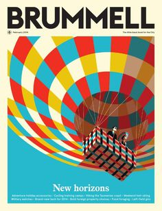 NAS CAPAS: BRUMMELL #air #cover #horizons #balloon #magazine #new
