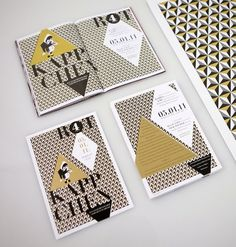 Looks like good Graphic Design by LEIB UND SEELE #gold #print #design #publication