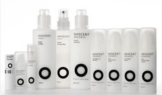 Organic packaging image by jessgear29 on Photobucket #nascent #white #packaging #design #black #organic #typography