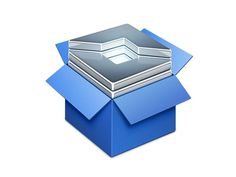 'Snippet set' Document Icon #metal #typemetal #text #icon #appstore #icons #box #dropbox #app #blue #editor #mac