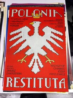 Polonia Restituta poster | Flickr - Photo Sharing! #center #lettering #poster #lubilan