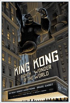 Mondo: The Archive | Laurent Durieux King Kong, 2012 #movie #poster