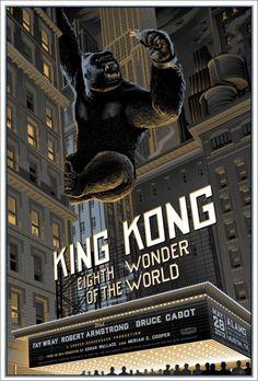 Mondo: The Archive | Laurent Durieux   King Kong, 2012