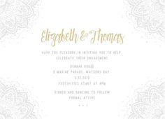 Elegant Collection - Engagement Invitations #paperlust #weddinginvitation #weddinginspiration #weddingstationery #engagement #engagementinv