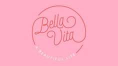 Bella Vita identity and website - Peter Hutton