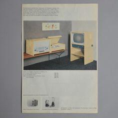 Braun G series brochure Wolfgang Scheitel 1955 via www.dasprogramm.org
