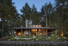 Napa Cabin by Wade Design Architects