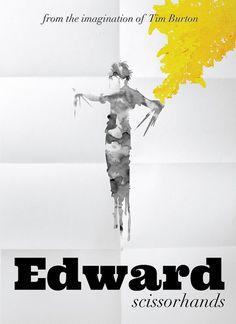 Edward Scissorhands | Flickr – Compartilhamento de fotos! #tim #scissorhands #poster #burton #edward