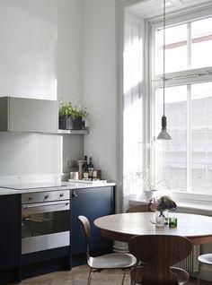 The Design Chaser: Blue #interior #design #decoration #decor #deco #kitchen