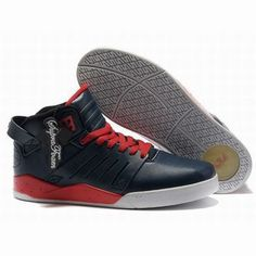 Supra Skytop III Navy Blue/Red/White Men's #shoes