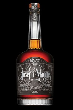 packaging, bourbon, type, label