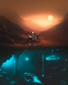 Futuristic and Dreamlike Photo Manipulations by Eashan Misra