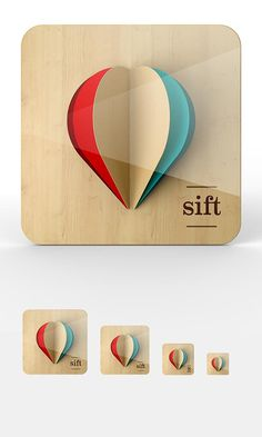 "iOS Icon Proposal Work by Omar Puig for ""sift"" app #icon #app #sift"