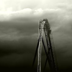 DeadFix #photo #blackwhite #roller #coaster